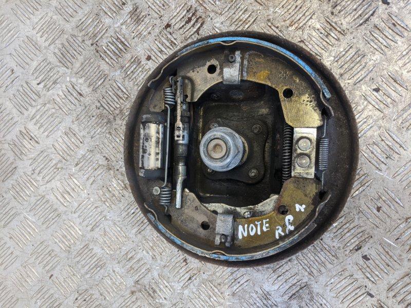 Щит опорный задний правый Nissan Note E11 2010 (б/у)