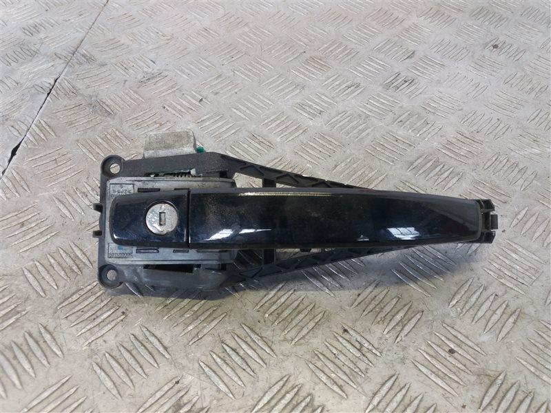 Ручка двери передней наружная правая Opel Corsa D 2008 (б/у)