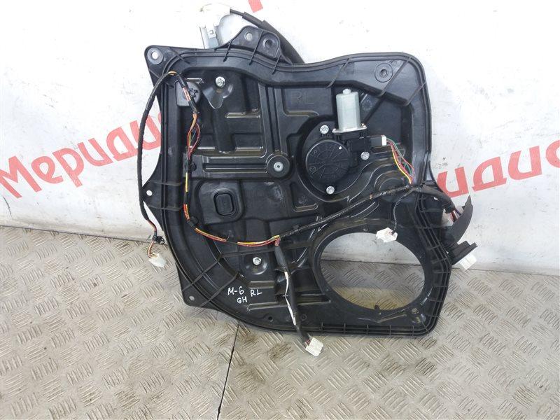 Стеклоподъемник электрический задний левый Mazda 6 GH 2009 (б/у)