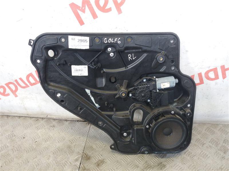 Стеклоподъемник электрический задний левый Volkswagen Golf VI 2012 (б/у)