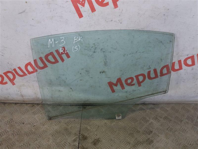 Стекло двери задней левой Mazda 3 BK 2007 (б/у)