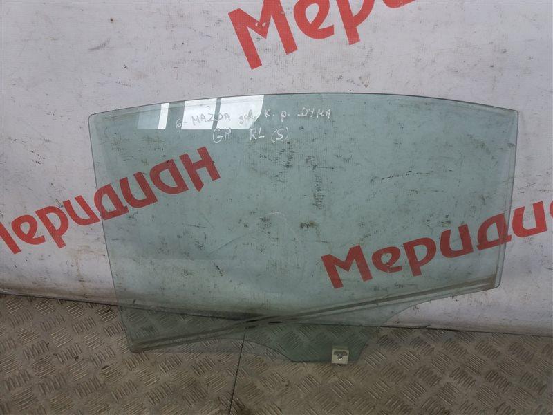 Стекло двери задней левой Mazda 6 GH 2009 (б/у)