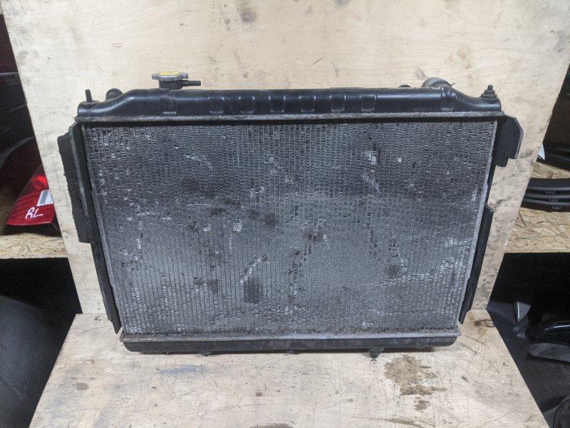 Радиатор основной Nissan Navara 2004 (б/у)