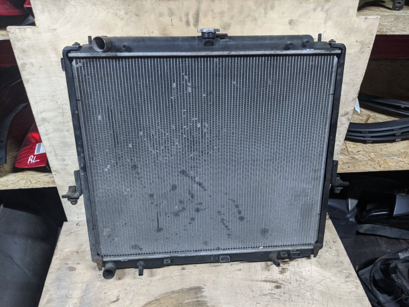 Радиатор основной Nissan Navara D40 2007 (б/у)