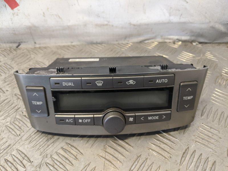 Блок управления климат-контролем Toyota Avensis II 2006 (б/у)