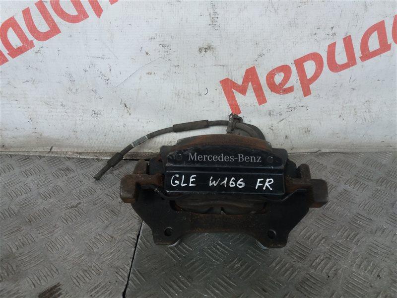 Суппорт тормозной передний правый Mercedes Benz Ml/gle W166 2.5 2017 (б/у)