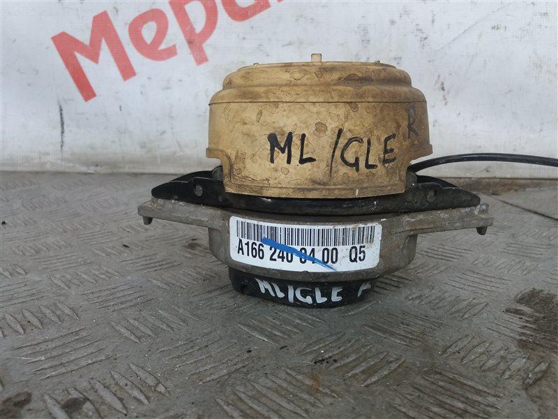 Опора двигателя правая Mercedes Benz Ml/gle W166 2.5 2017 (б/у)