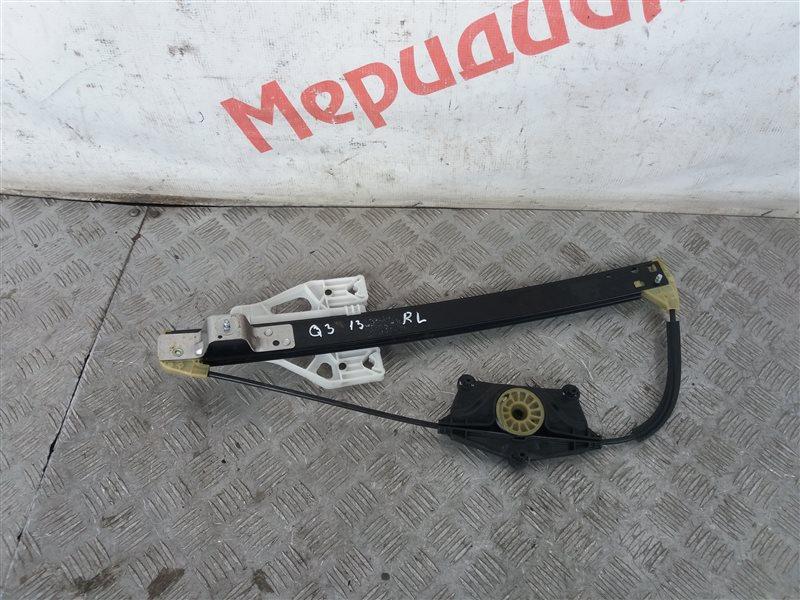 Стеклоподъемник электрический задний левый Audi Q3 8U 2013 (б/у)