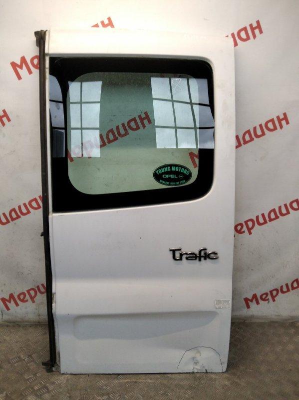 Дверь задняя правая Renault Trafic 2004 (б/у)