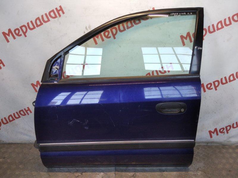 Дверь передняя левая Mitsubishi Space Star 2004 (б/у)