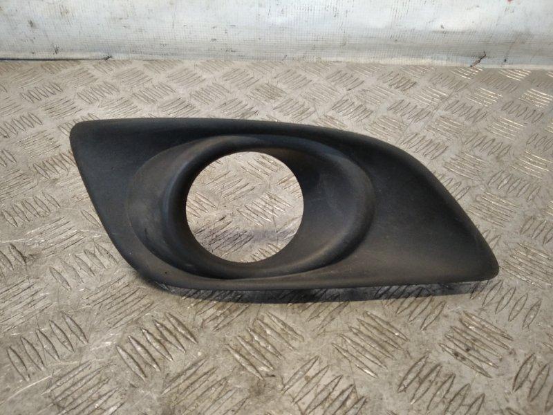 Рамка противотуманной фары правой Toyota Avensis II 2007 (б/у)