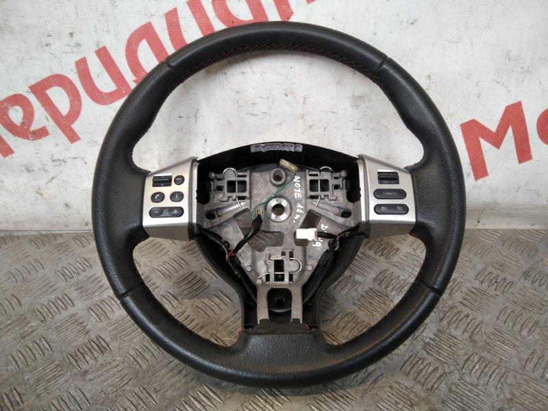 Рулевое колесо без airbag Nissan Note E11 2011 (б/у)