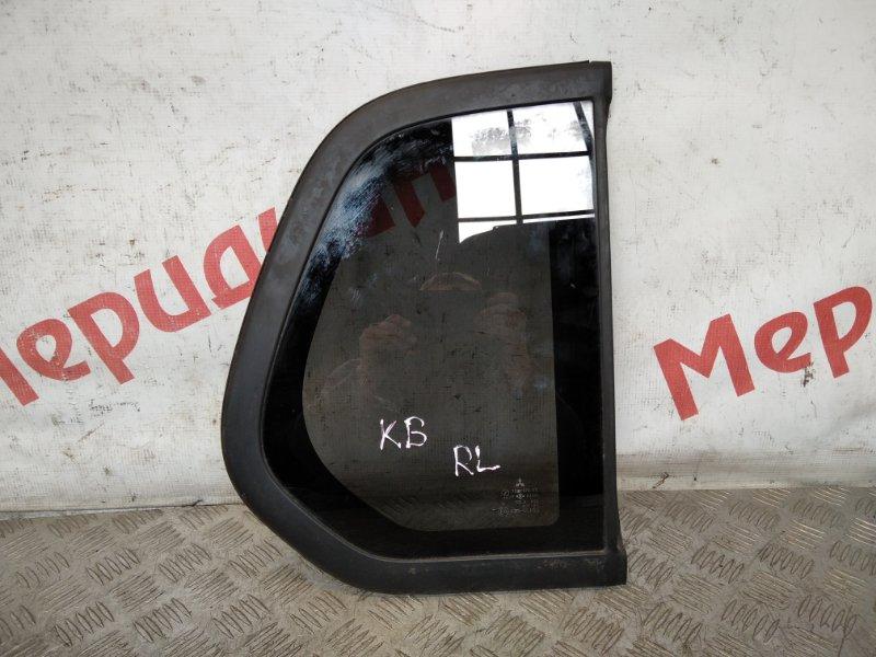 Стекло кузовное глухое левое Mitsubishi L200 KB 2010 (б/у)