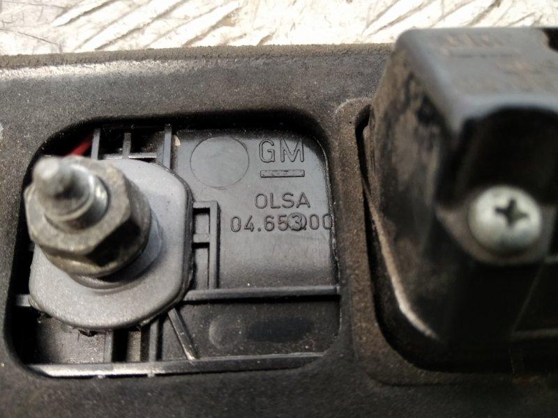 Накладка двери багажника Saab 9-5 2007 (б/у)