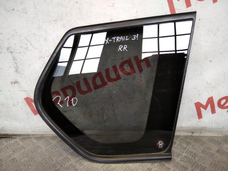 Стекло кузовное глухое правое Nissan X-Trail T31 2007 (б/у)