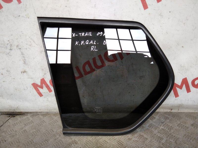 Стекло кузовное глухое левое Nissan X-Trail T31 2007 (б/у)