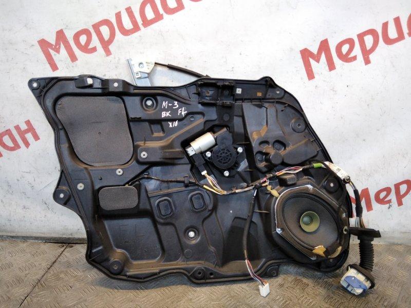 Стеклоподъемник электрический передний левый Mazda 3 BK 2006 (б/у)