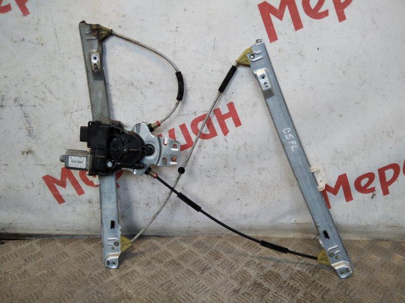 Стеклоподъемник электрический передний левый Citroen C5 RD 2011 (б/у)