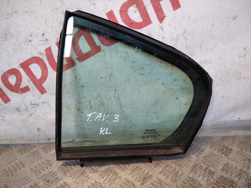 Стекло двери задней левой (форточка) Toyota Avensis III 2009 (б/у)