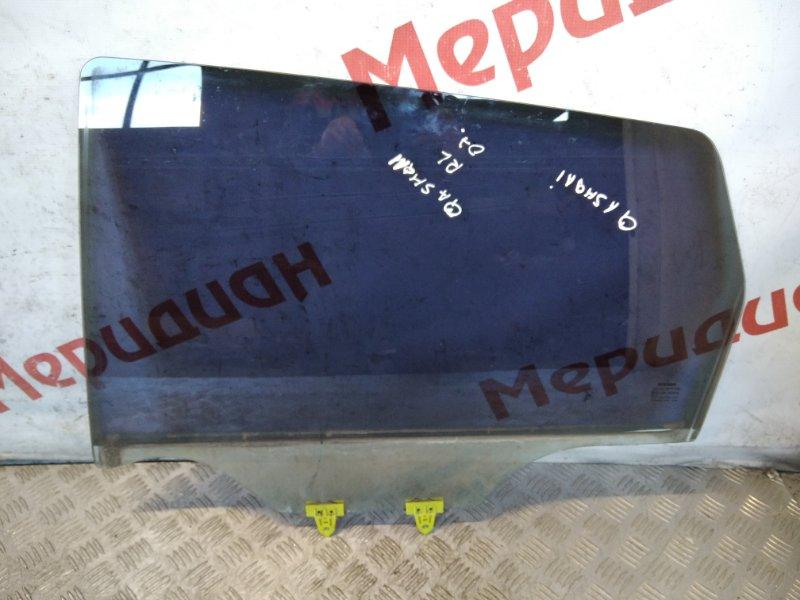 Стекло двери задней левой Nissan Qashqai J10 2008 (б/у)
