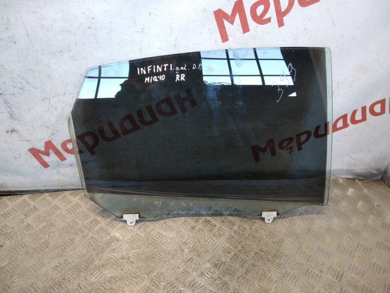 Стекло двери задней правой Infiniti M/q70 Y51 2011 (б/у)