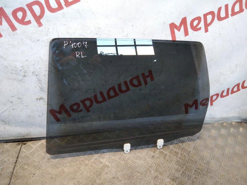Стекло двери задней левой Peugeot 4007 2011 (б/у)