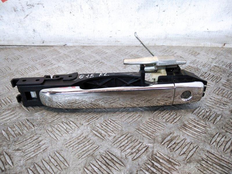 Ручка двери передней наружная левая Nissan Almera G15 1.6 2015 (б/у)
