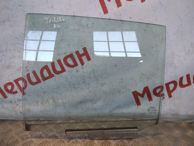 Стекло двери задней левой Toyota Yaris II 2008 (б/у)