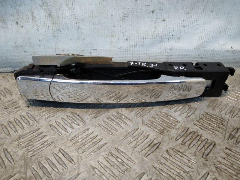 Ручка двери задней наружная правая Nissan X-Trail T31 2008 (б/у)