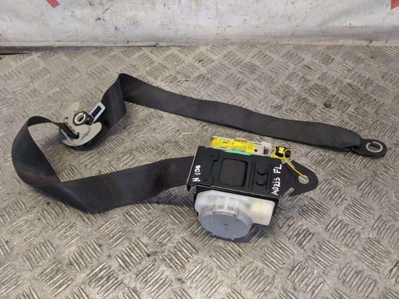Ремень безопасности с пиропатроном передний левый Toyota Auris I 1.6 2008 (б/у)