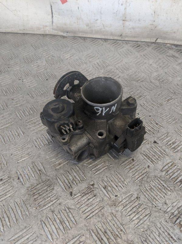 Заслонка дроссельная механическая Nissan Almera N16 2004 (б/у)
