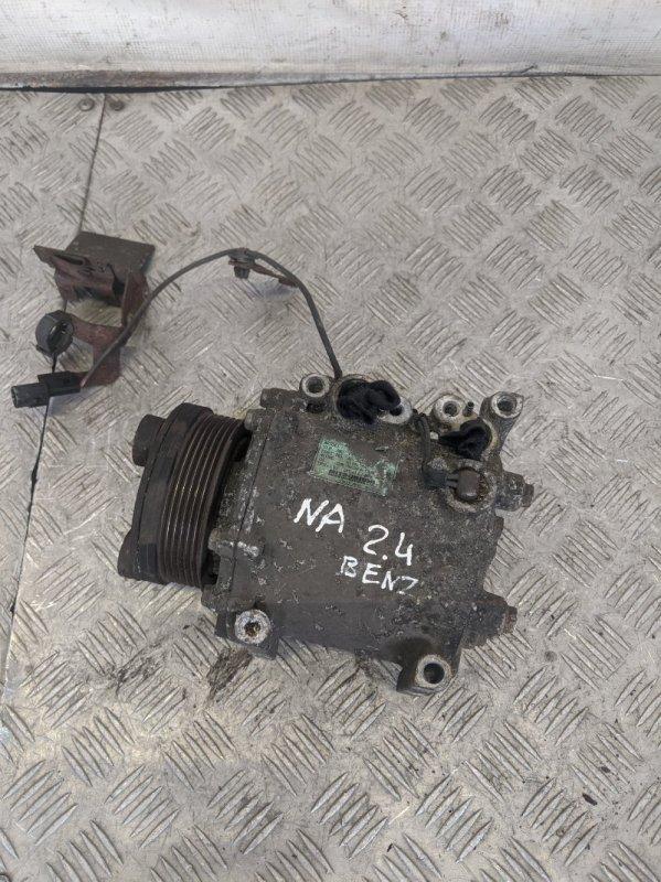 Компрессор кондиционера Mitsubishi Grandis NA 2006 (б/у)