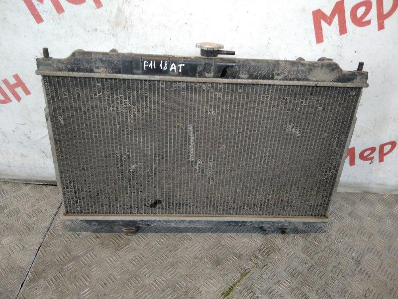 Радиатор основной Nissan Primera WP11E 1.8 2000 (б/у)
