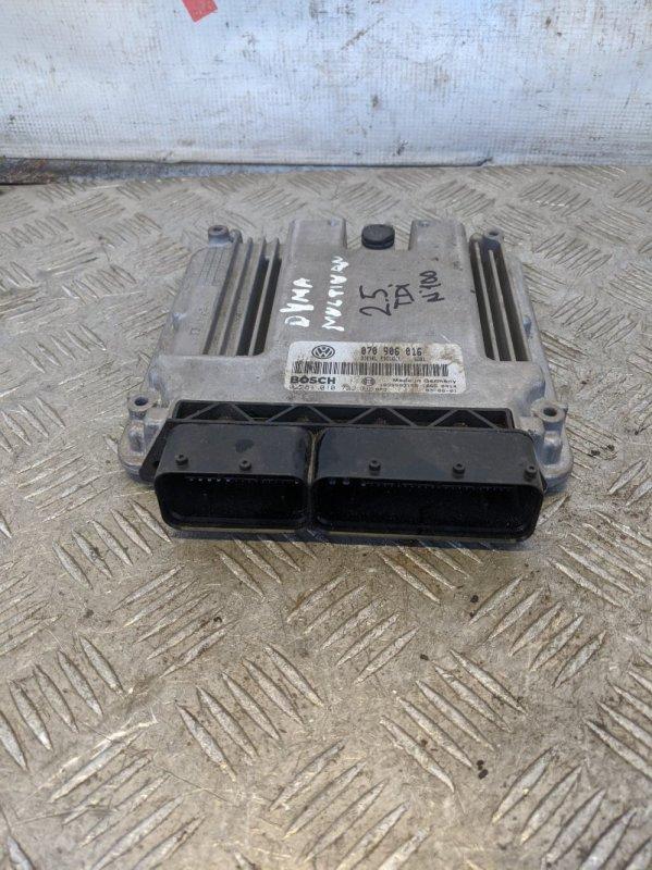 Блок управления двигателем Volkswagen Caravelle T5 2009 (б/у)