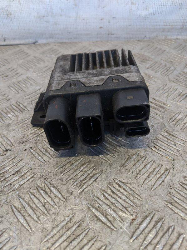 Блок управления вентилятором Volkswagen Caravelle T5 2009 (б/у)