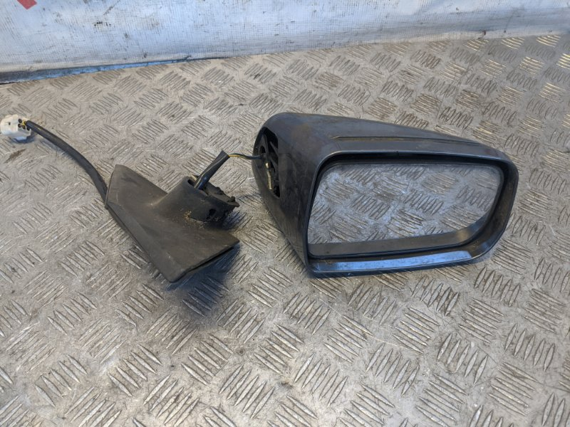Зеркало левое электрическое Mitsubishi Galant DJ 2007 (б/у)