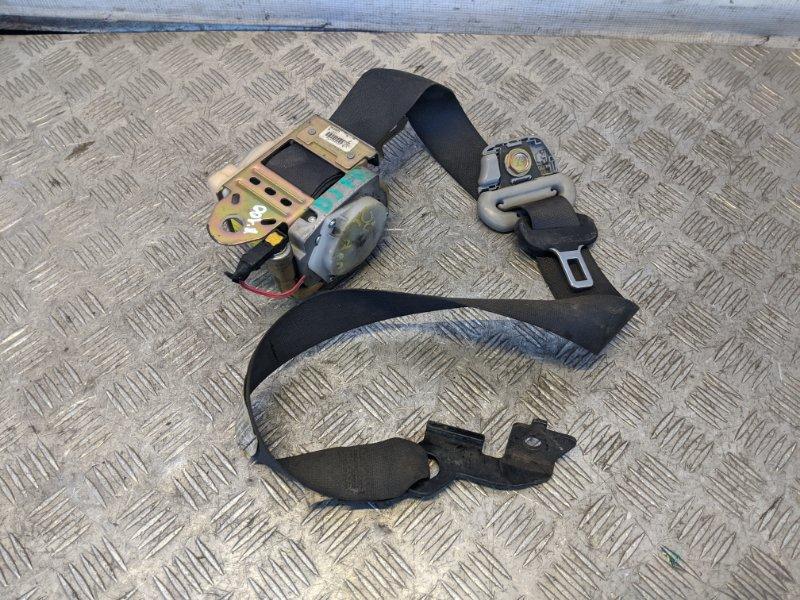Ремень безопасности с пиропатроном передний правый Mitsubishi Galant DJ 2007 (б/у)