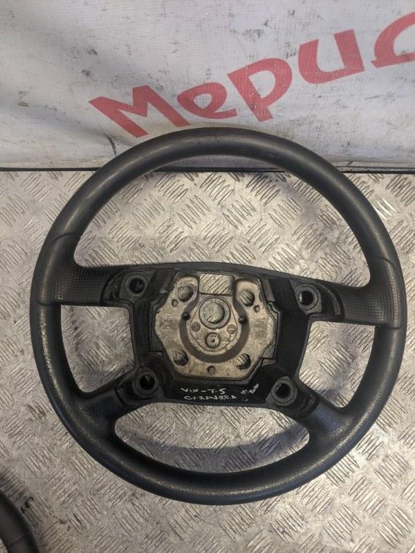 Рулевое колесо без airbag Volkswagen Caravelle T5 2008 (б/у)
