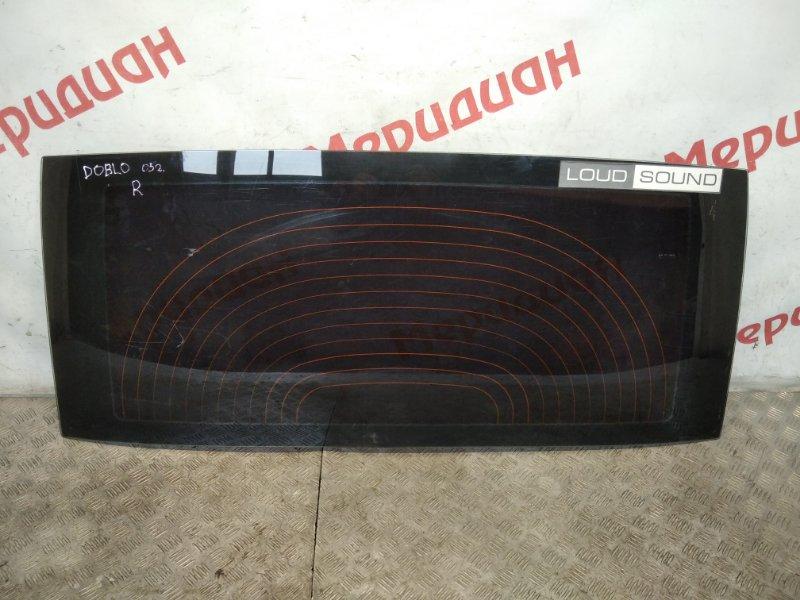 Стекло заднее Fiat Doblo I 1.3 D 2005 (б/у)