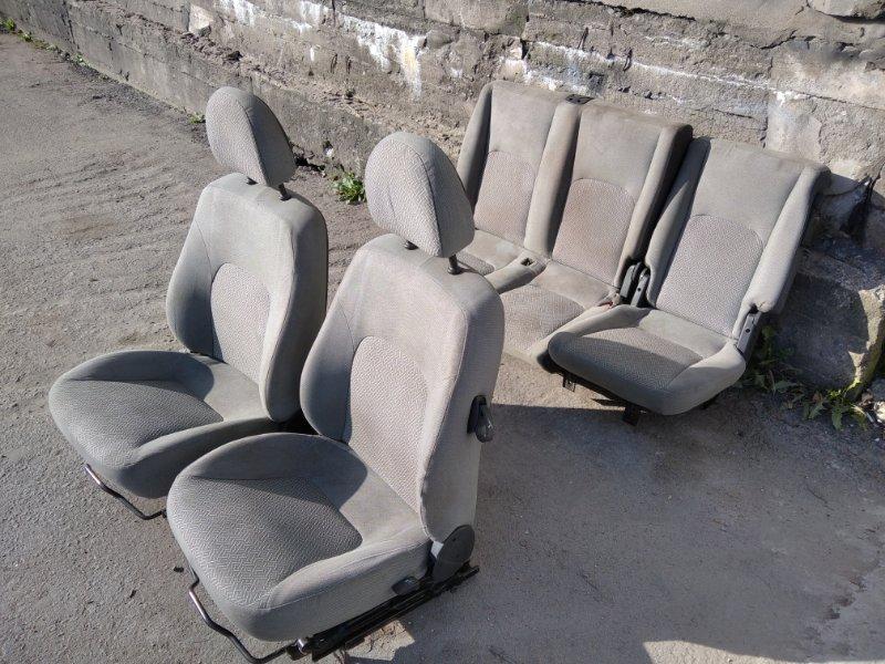 Комплект сидений Fiat Doblo I 1.3 D 2005 (б/у)