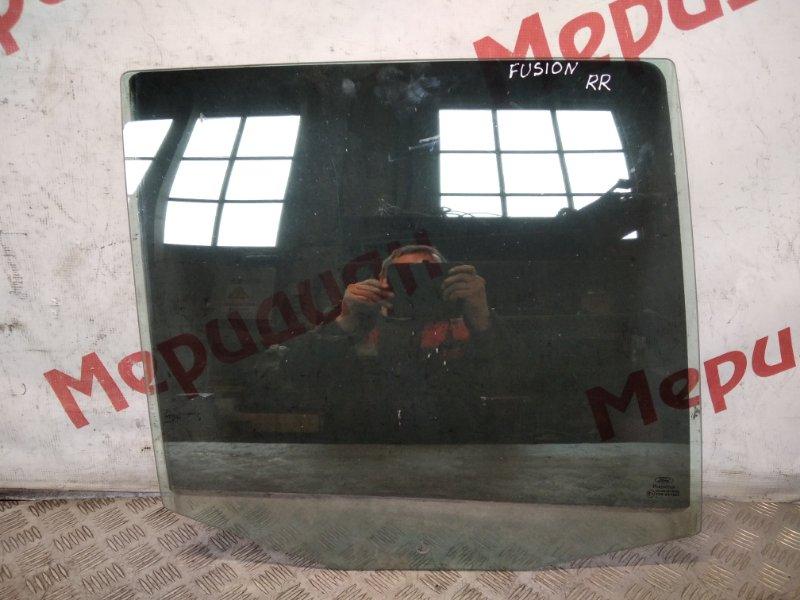 Стекло двери задней правой Ford Fusion 2008 (б/у)