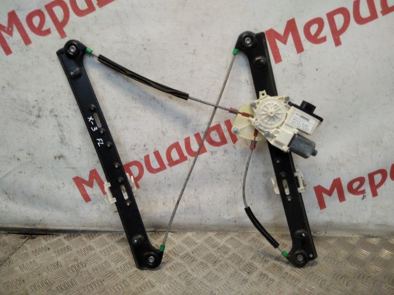 Стеклоподъемник электрический передний левый Bmw X3 E83 2.0 TDI 2005 (б/у)