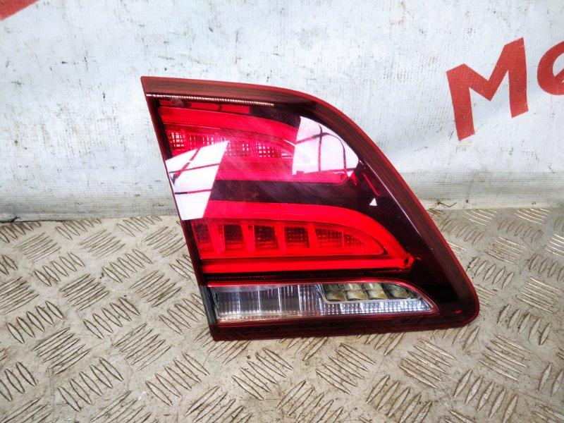 Фонарь задний внутренний левый Mercedes Benz Ml/gle W166 2.5 2017 (б/у)
