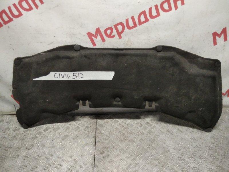 Шумоизоляция капота Honda Civic 5D 2007 (б/у)