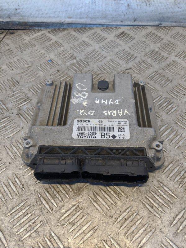 Блок управления двигателем Toyota Yaris II 2008 (б/у)