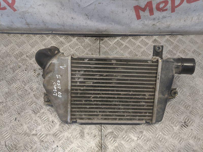 Интеркулер Mitsubishi L200 KB 2008 (б/у)
