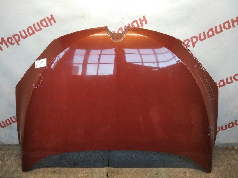 Капот Renault Megane III 2010 (б/у)