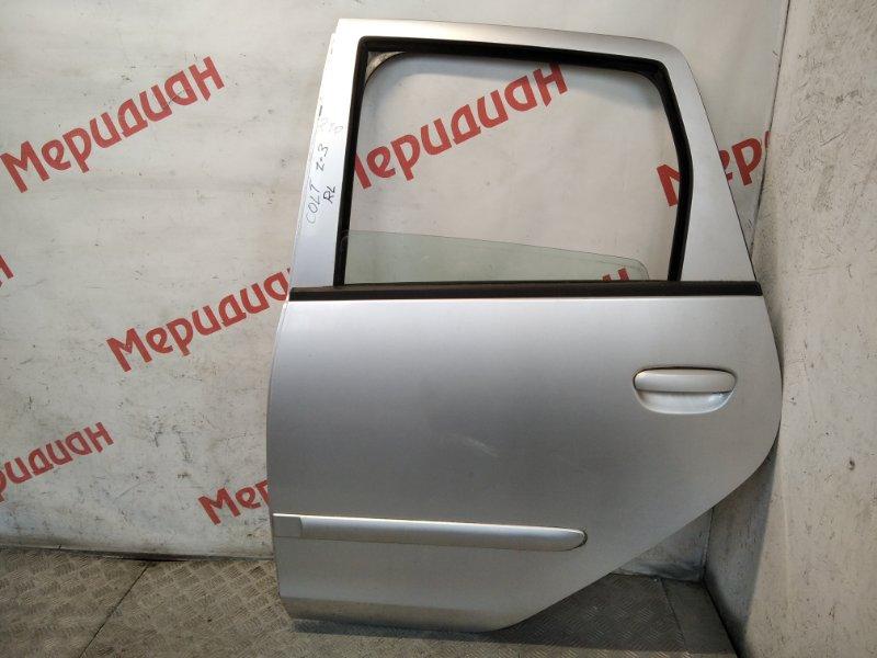 Дверь задняя левая Mitsubishi Colt (Z3) 2006 (б/у)