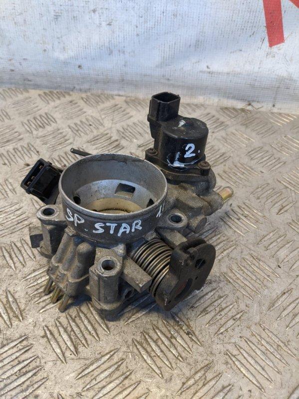 Заслонка дроссельная механическая Mitsubishi Space Star 1.6 2004 (б/у)