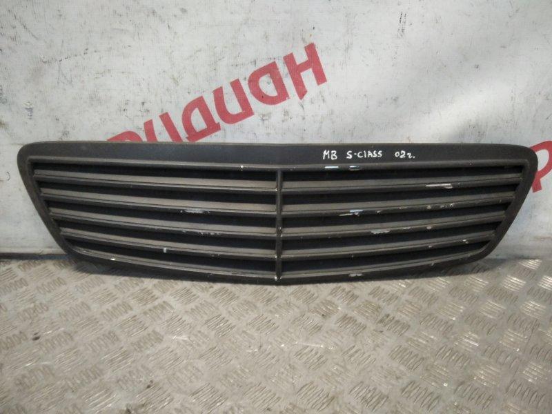 Решетка радиатора Mercedes Benz S-Class W220 2000 (б/у)